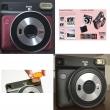 Fujifilm Instax square SQ6 noir et ruby