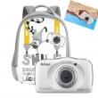 Nikon Coolpix W100 Kit sac à dos, bleu et blanc